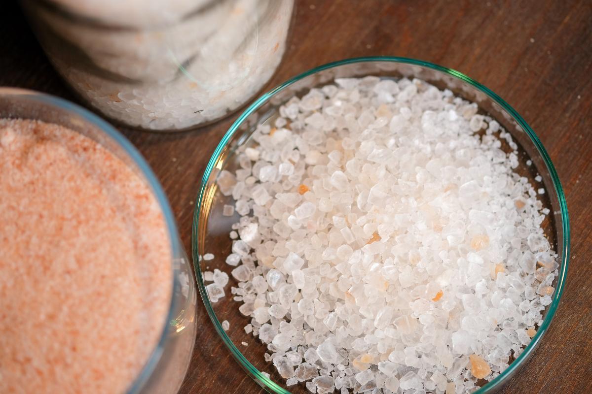 Auszüge in Salz